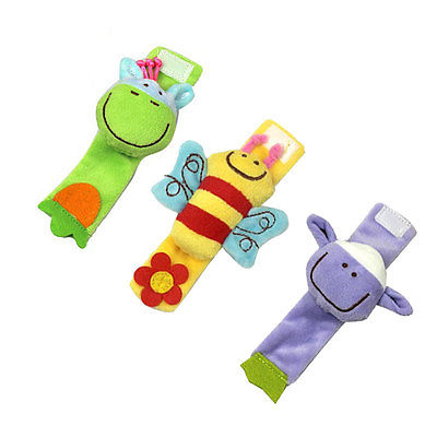 Kids Baby Infant Soft Animal Handbells Rattles Stroller Bells Developmental Toy - We Are The World Good To See You store