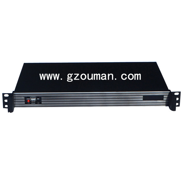 1u mini itx server chassis rack case(China (Mainland))