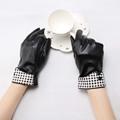 Fashion Women PU Leather Glove For Winter Luvas Female Gloves Motocycle Driving Winter Warm Wrist Gloves
