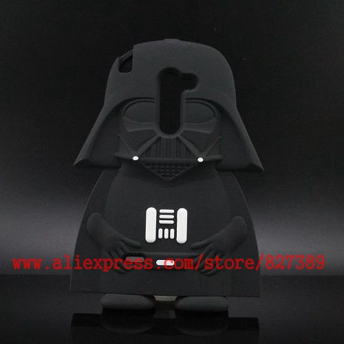 For LG G4c Case Cute Soft Rubber Star Wars Darth Vader Cartoon 3D Phone Cases Cover For LG G4 mini H502F H500F C90 H520N(China (Mainland))