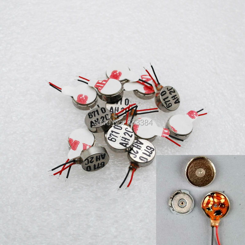 Wholesale 20pcs 4x10mm DC 3V Coin Vibration Extra Micro Motor brushless vibration motor free shipping(China (Mainland))