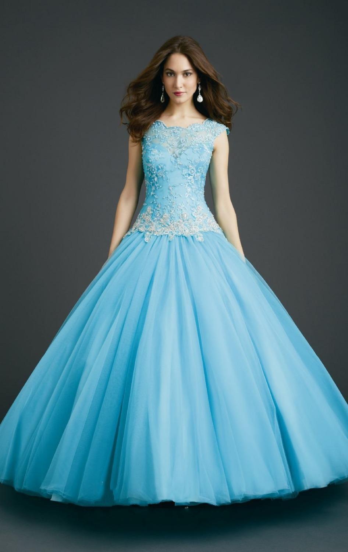 Blue Sweet 16 Dresses