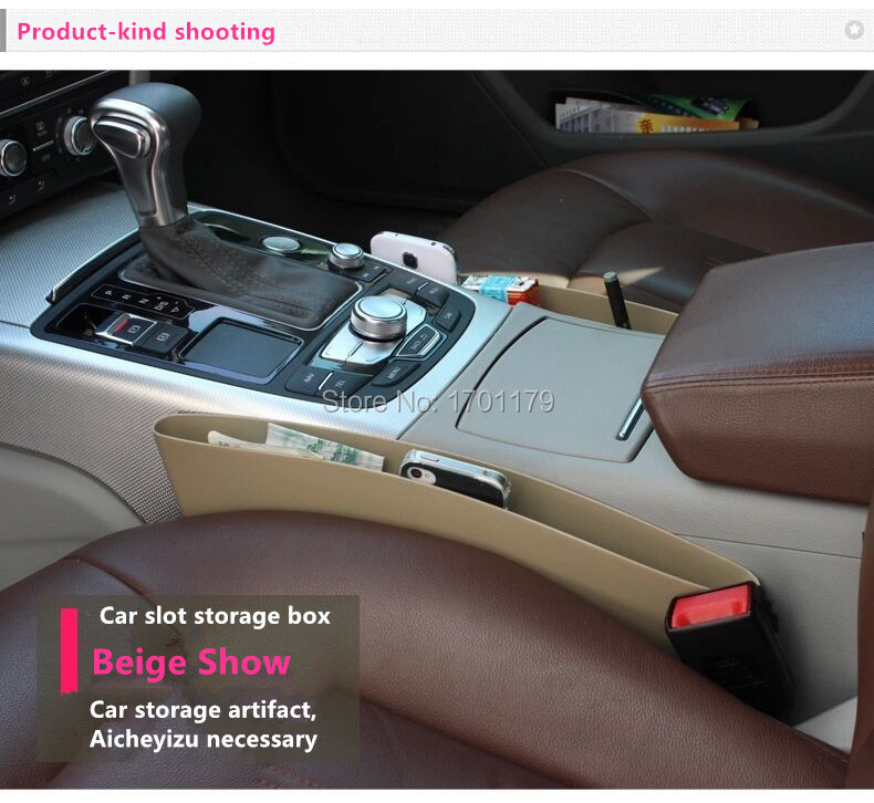 Car storage box storage box car seat apertural auto supplies box glove box(China (Mainland))