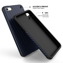 Luxury Elegent High Quality Carbon Fiber Soft Case For iPhone 5 5S SE Leather Skin 3D Texture Tire Defender Cover For iPhone SE(China (Mainland))