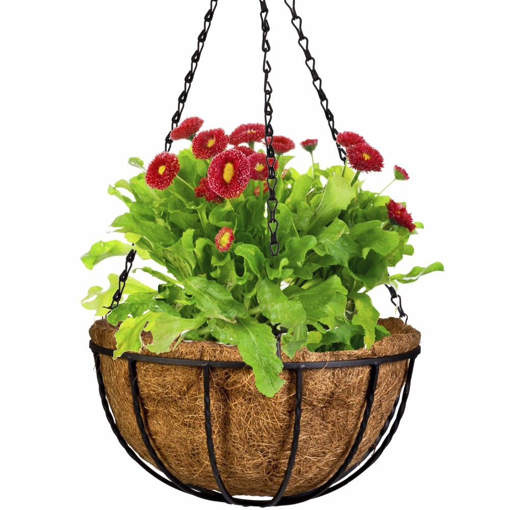 Hanging Flower Baskets Michaels : Buy wholesale wrought iron planter from china