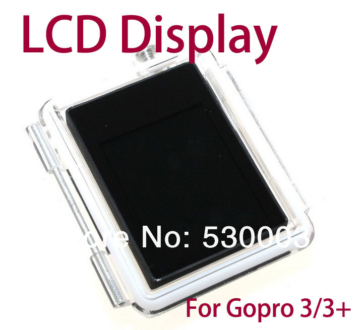 Gopro LCD BacPac External Display for gopro Viewer Monitor Non-touch LCD Screen for GoPro accessories HD HERO 3/3+(China (Mainland))