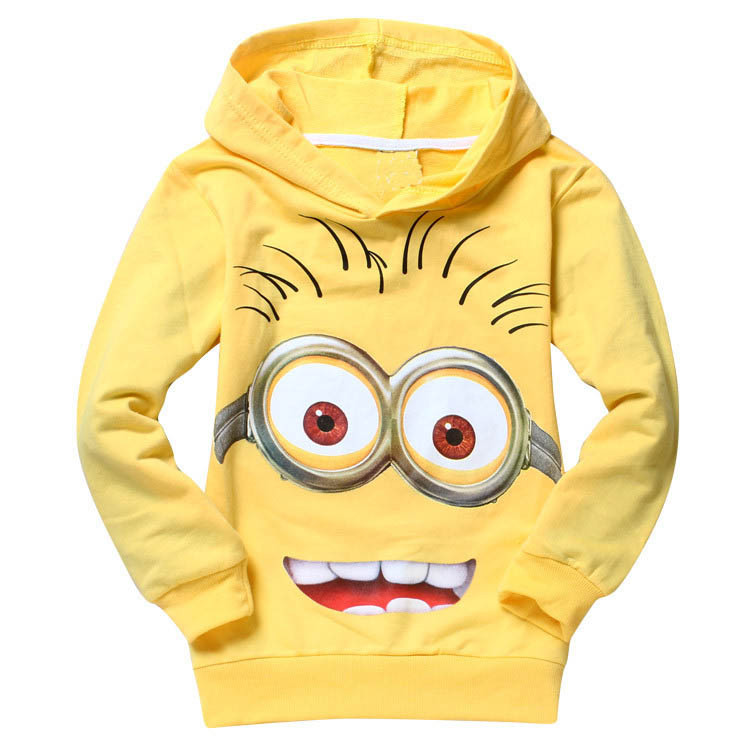 New 2015 Children Clothing Sets Fashion Cotton Boys Clothes Baby Boy Suits Despicable Me 2 Minion Kids Clothes Boy Clothing(China (Mainland))