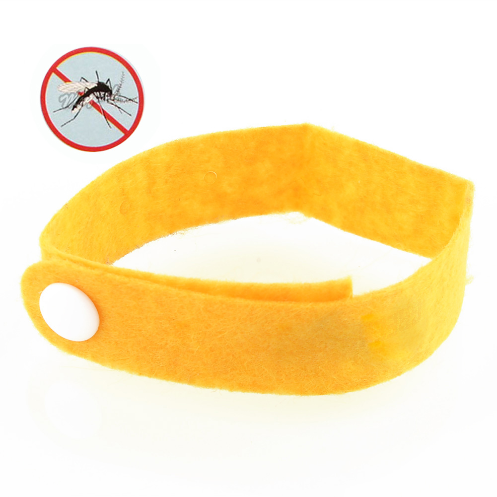 Convenient 10pcs Anti Mosquito Pest Insect Bugs Repellent Repeller Wrist Bands Bracelet Camping Outdoor(China (Mainland))