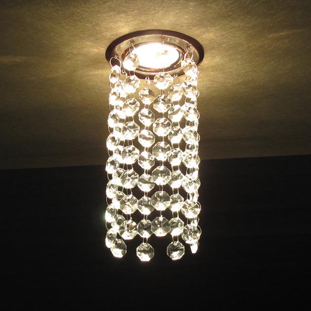 LED lustre Ceiling lamps Crystal Ceiling LED lamps including bulbs crystal ceiling bedroom led lustre for voltage 90-260V(China (Mainland))