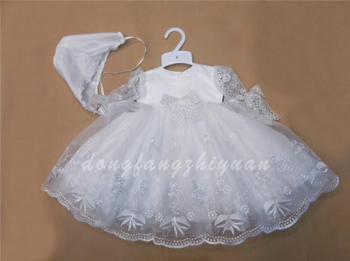 Vestidos de bautizo para bebe de 7 meses