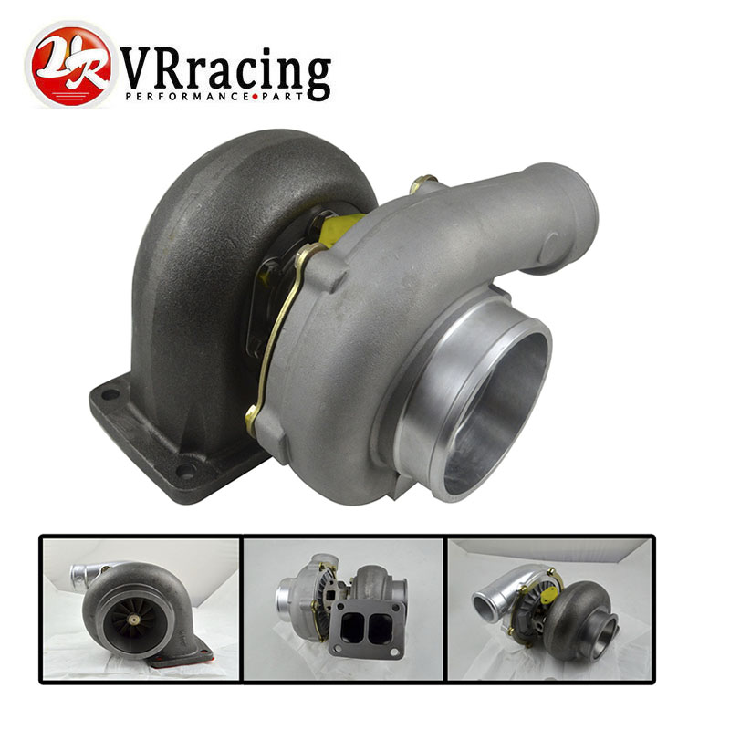 "VR RACING-TURBO T04Z T70 T4 flange A/R 84 A/R 0.70 OIL cold 4"" V band TurboCharger T04Z-1 VR-TURBO40"