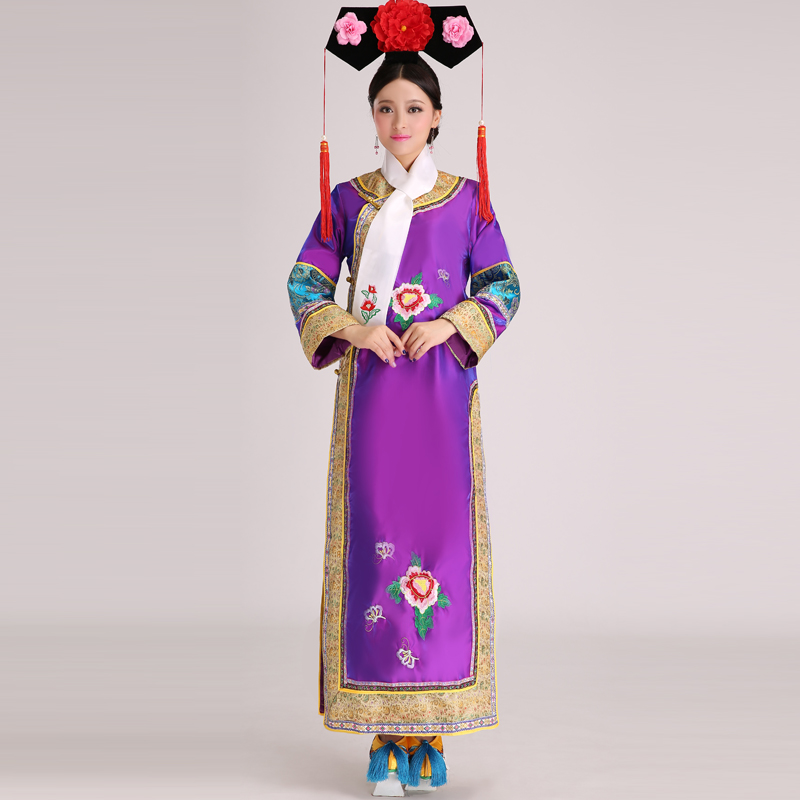 Qing Dynasty Women Clothing Hat qing dynasty cl...