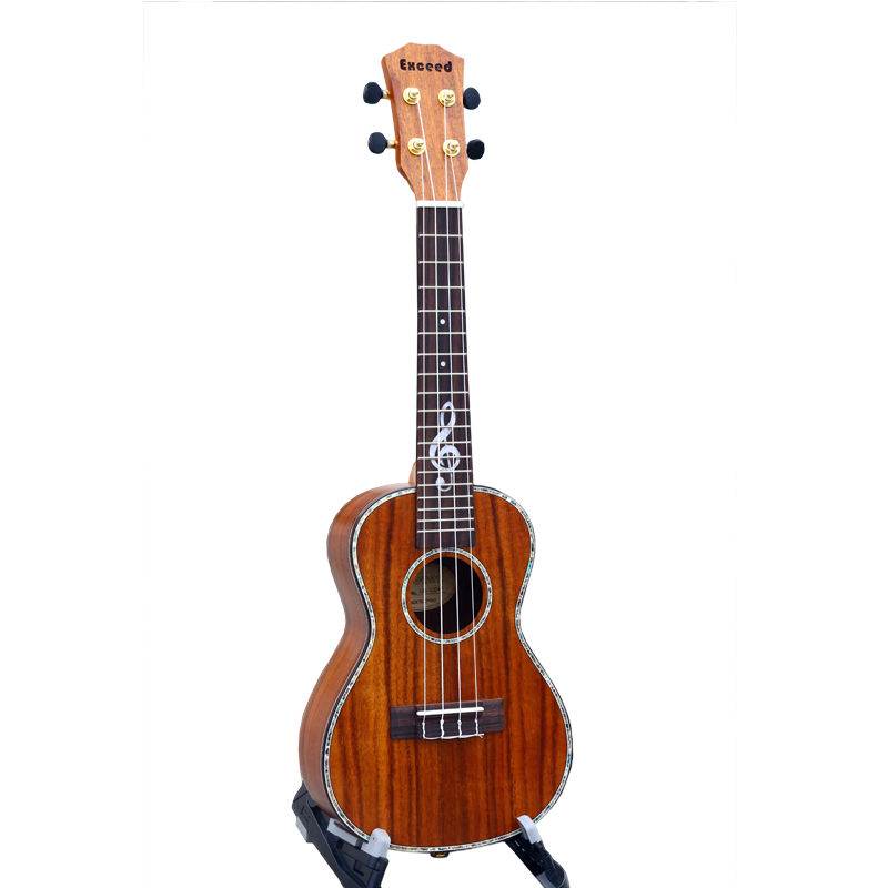 23 inch concert ukulele special fretboard decoration mini for Decoration ukulele