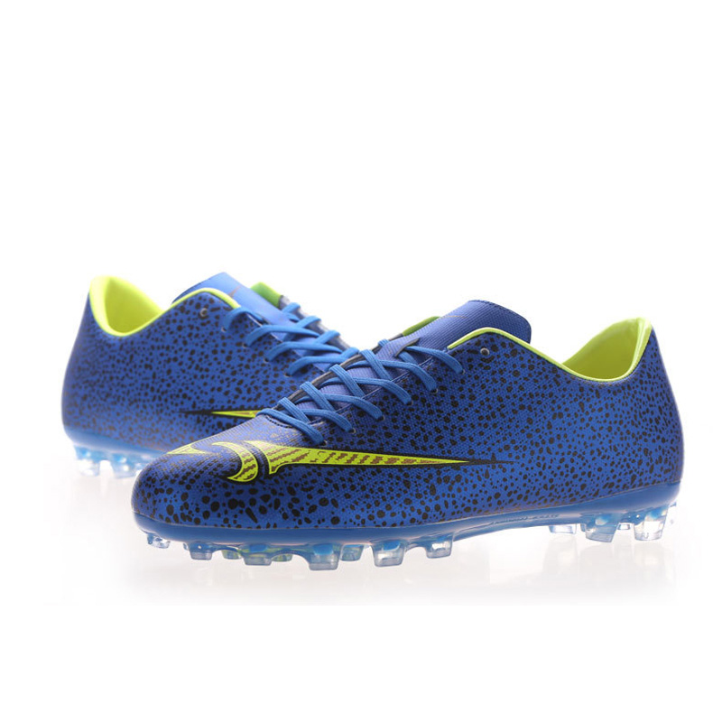 22-27.5 cm Brand Professional Kids Football Shoes Long Spikes Soccer chaussures de foot Boots Fashion Boys Men's Soccer Sneakers(China (Mainland))