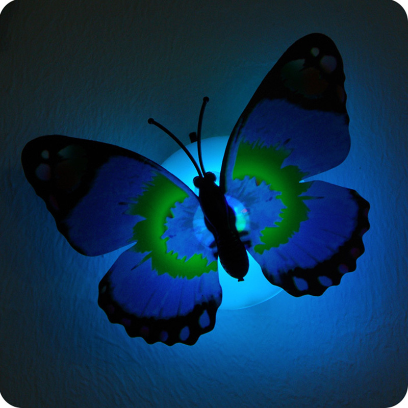 Wall Night Light Target : Aliexpress.com : Buy 10pcs Luminous Butterfly Night light Flashing Colorful wall lamp,chuck and ...