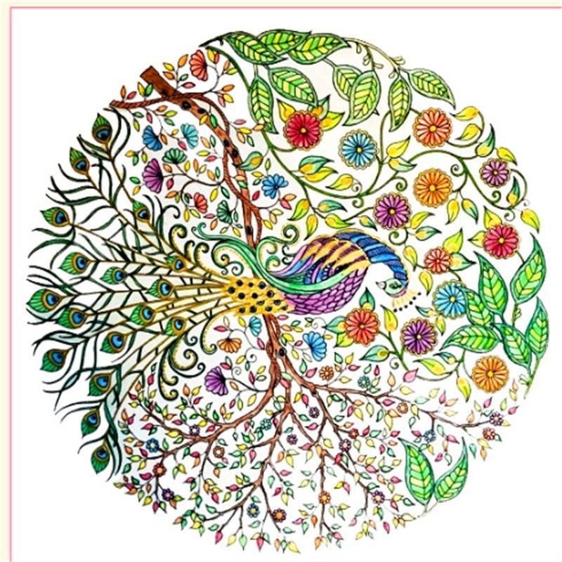 2016 Enchanted Forest An Inky Treasure Hunt Adult Coloring