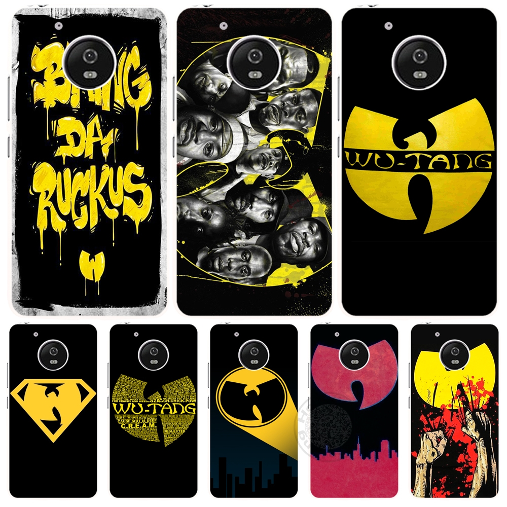 Wu Tang Clan Hip Hop Rap Band case cover Motorola Moto G5 G4 X+1 PLAY PLUS ONE style ZUK Z1 Z2 BQ M5.0  -  ShenZhen DXD Co.,Ltd Store store