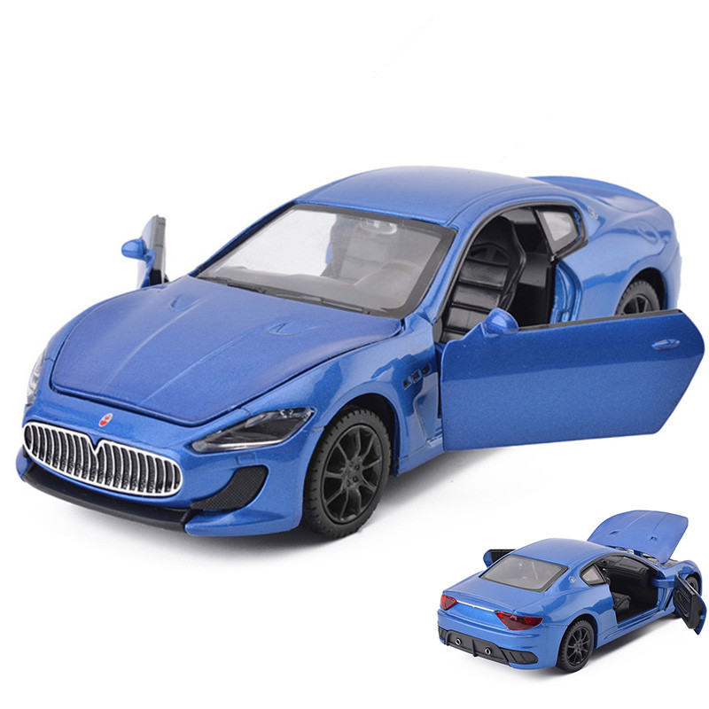 1:32 Scale Original kids Maserati GT metal die cast model sports racing cars vehicle gift collectible auto boys wheels Motor Toy(China (Mainland))