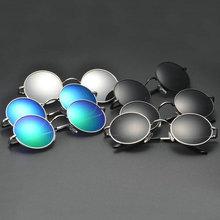 Новая Мода Хиппи Ретро Защита HD Солнцезащитные Очки Круглые Винтажные Очки Очки Горячая(China (Mainland))