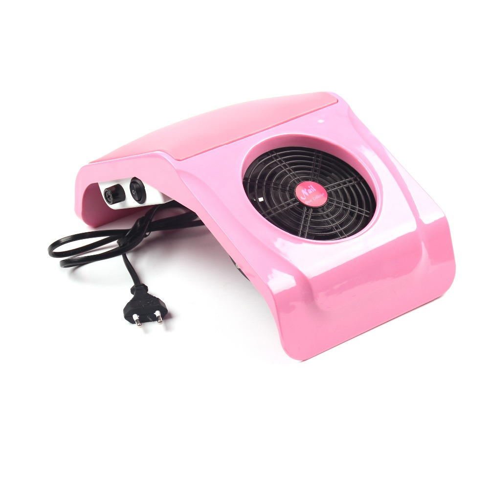 220V/110V Suction Nail Dust Collector Vacuum Cleaner Salon buffer block Tool(China (Mainland))