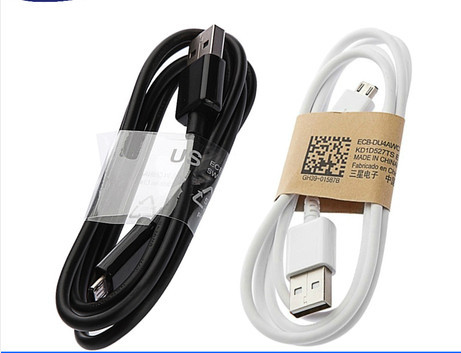 Good Quality 1M Micro USB Data Cable charger adapter for Samsung Galaxy S4 S3 III Note 2 II I9500 I9300 white(China (Mainland))