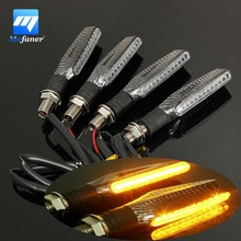 4 PCS Universal 12V 1.3W Super Bright Motorcycle Motorbike LED Turn Signal Indicators Amber Blinker Light Lamp(China (Mainland))