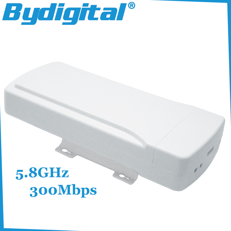 5.8GHz outdoor CPE bridge 300Mbps high speed wifi repeater 64M RAM high gain router 16Dbi Wireless AP 802.11a / n(China (Mainland))