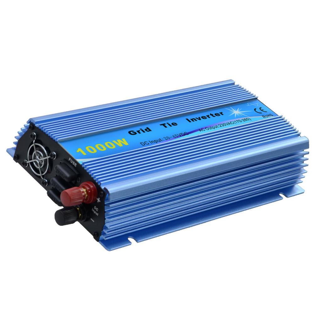 20V~40V DC Grid tie inverter 1000W Output 220V for 1200W 24V Solar panel Inversor(China (Mainland))