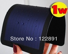New Upgraded! 1W Flexible Foldable Solar Cells/Solar Panel 2V 600MA For DIY Phone Charger+Waterproof Free shipping(China (Mainland))