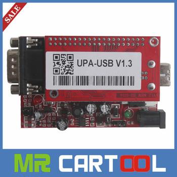 Top Rated full Adaptors UPA USB ECU Chip Tuning Scanner UPA-USB Interface V1.3 Serial Programmer ECU Chip Tuning UUSP UPAUSB Red
