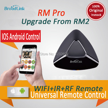Original Broadlink RM2 RM PRO Universal Intelligent Remote Controller Smart Home Automation WIFI+ IR+ RF Switch Via IOS Android(China (Mainland))
