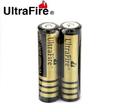18650 3.7V 4000mAh Rechargeable Battery LED Flashlight 2*186550 4000mah Singapore post  -  Rich Source Tech Co. Ltd store