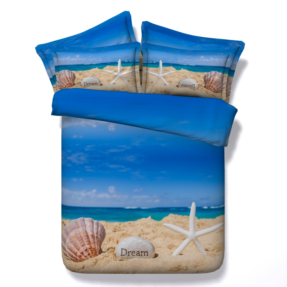 Beach Print Bedding Promotion Shop For Promotional Beach