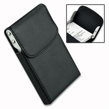 Xmas Pocket Leather Business Credit Card Holder Case Black EG0119(China (Mainland))