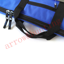 archery arrow and bow case archer recurve bow bag back with adjustable straps for arrow clyinder
