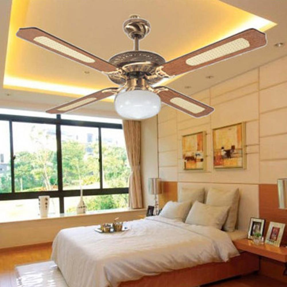Aliexpress.com : Acquista Breve ikea nordic legno ventilatore a soffitto vent...