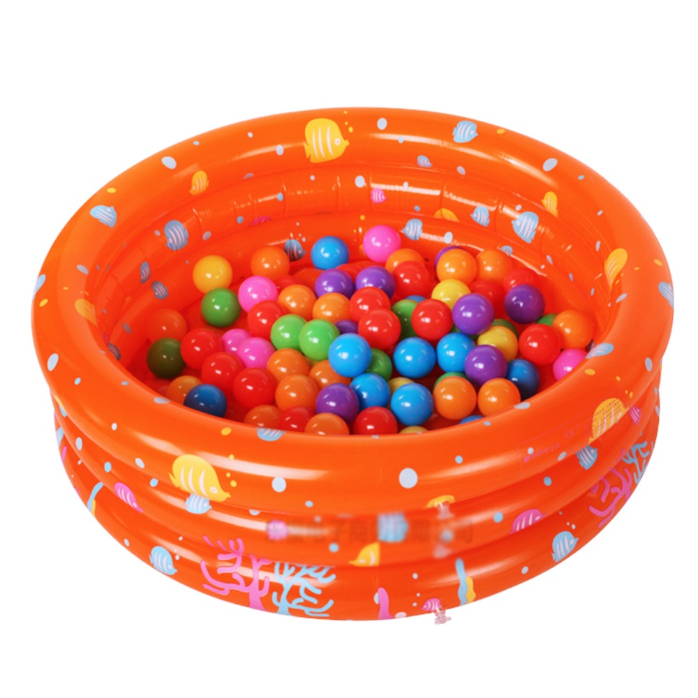 New Baby Inflatable Fluorescent Tricyclic Swimming Pool Kid's Piscina 4 Color for Choosing YY0060(China (Mainland))
