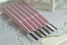 6Colors Fairygirl Eyebrow enhancer Free cutting Rotation Long-lasting waterproof Natura Eyebrow Pencil Wholesale MZ002(China (Mainland))