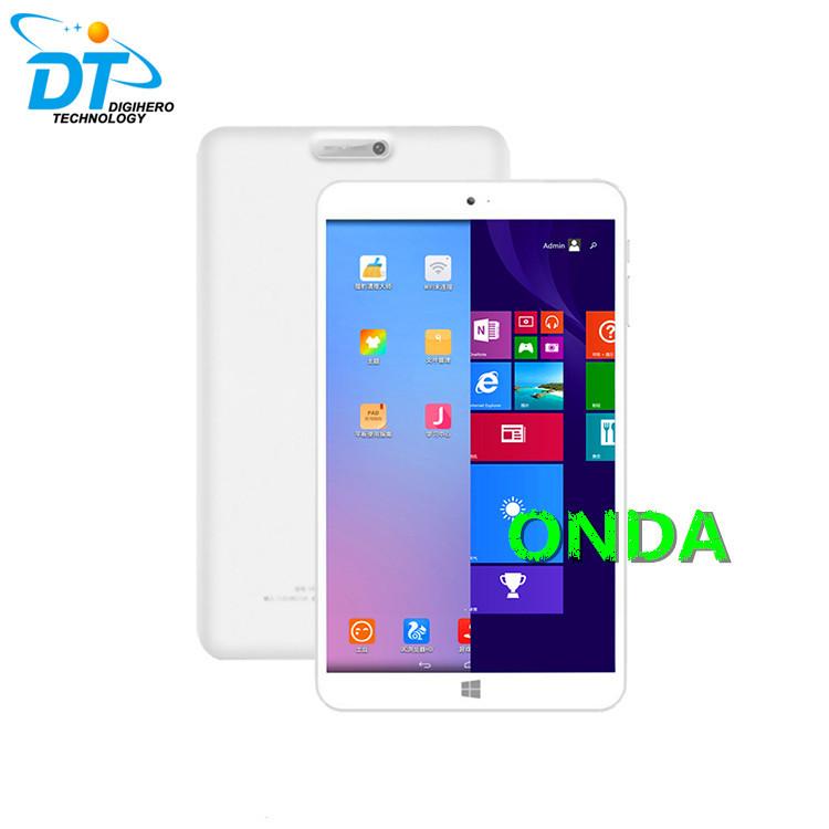 ONDA 8.0'' IPS 1280*800 V820W Dual boot Z3735F Quad Core Win8 OS tablet pc 2GB 32G ROM Dual camera BT 4.0 HDMI(China (Mainland))