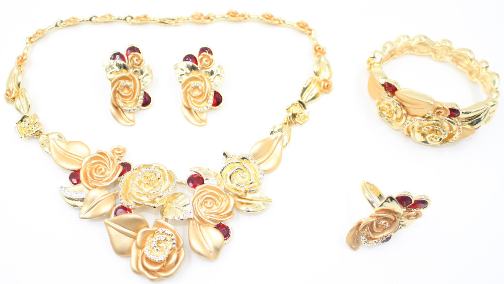 Gold necklace sets designs promotion shop for promotional for Decor jewelry