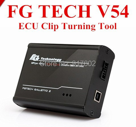 2016 New Arrival V54 FGTech Galletto 4 Master BDM-OBD Function FG Tech ECU Programmer with fast DHL free shipping(China (Mainland))