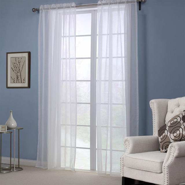 Vorhange Fur Wohnzimmer : Aliexpress versandkostenfrei polyester moderne vorhänge