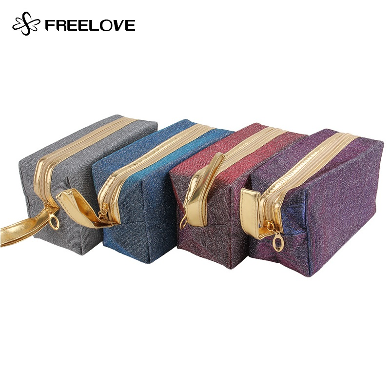Magic Change Color Velvet 3D Portable Makeup Storage Bag 1 Piece(China (Mainland))