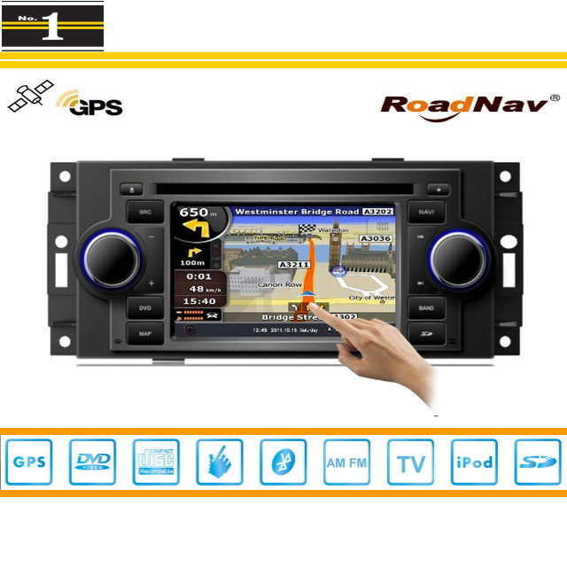 For JEEP Patriot 2006~2009 - Indash GPS Navigation DVD Player Radio Stereo TV BT iPod 3G WIFI 1080P S100 Multimedia System(China (Mainland))