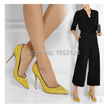 Anabesting Hot-selling Women Sexy Pointed Toe High Heels,Size 42 glitter Pumps,Office Lady Formal Shoes,Slip-on Wedding Pumps<br><br>Aliexpress