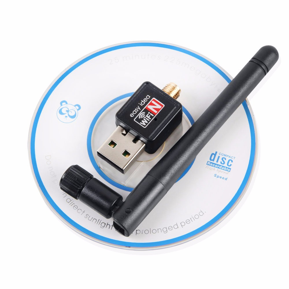 new usb wireless network lan card 150mbps with 2db antenna 2 4g portable strong reception signal. Black Bedroom Furniture Sets. Home Design Ideas