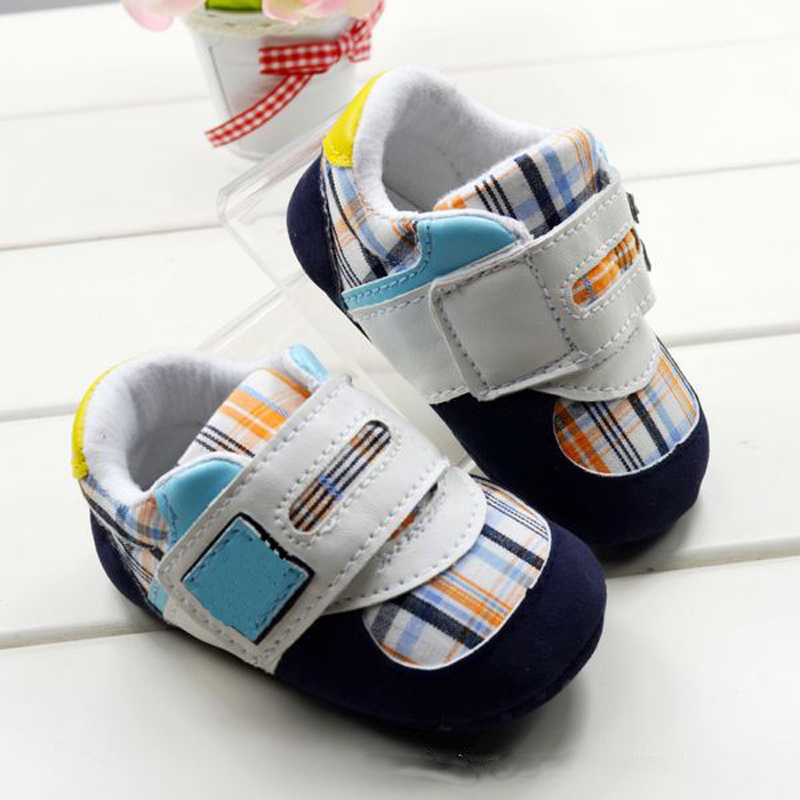 Plaid z baby shoes soft sole toddler shoes new fashion baby first walkers shoes(China (Mainland))