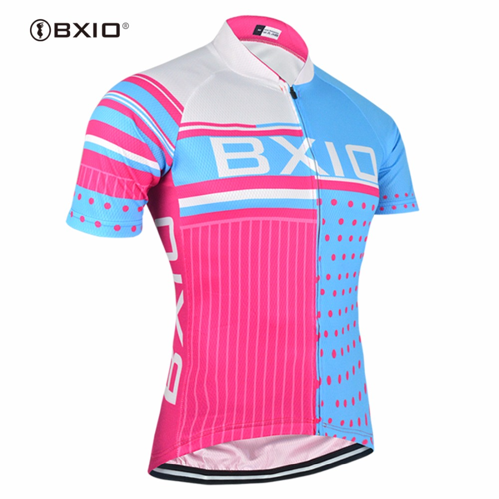 BXIO Pro Cycling Jersey Only Short Sleeve Raiders Jersey Ropa De Ciclismo Profesional Cycle Clothes Bicycle Jersey BX0209RB013-J(China (Mainland))