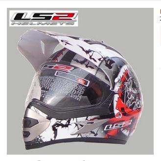Free shipping newest LS2 MX433 Motocross off-road helmet cross-country helmet  full helmet winter helmet / Red Sword of Heaven