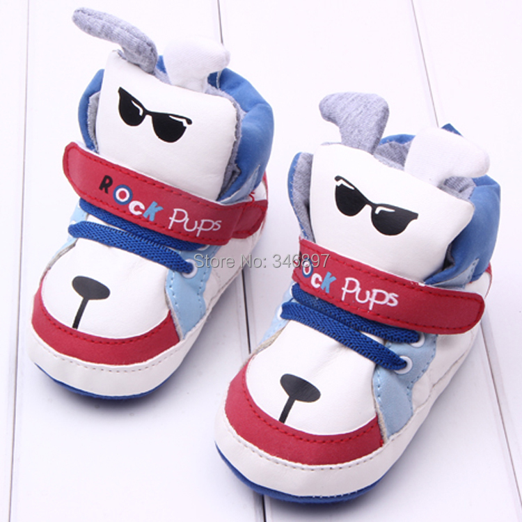 Free Shipping winter animal prints Baby boy Shoes Baby Sneakers Kids Shoes First Walkers Zapatos para bebe(China (Mainland))